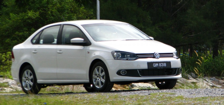 DRIVEN: Volkswagen Polo Sedan 1.6 tested! Image #103885