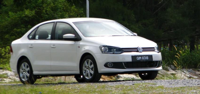 DRIVEN: Volkswagen Polo Sedan 1.6 tested! Image #103885