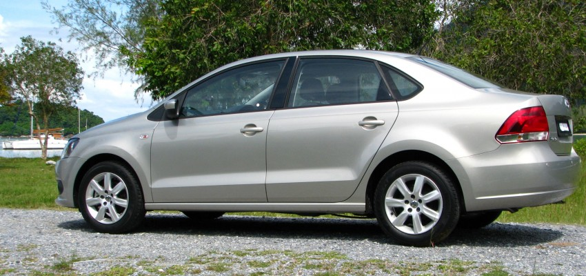 DRIVEN: Volkswagen Polo Sedan 1.6 tested! Image #103888