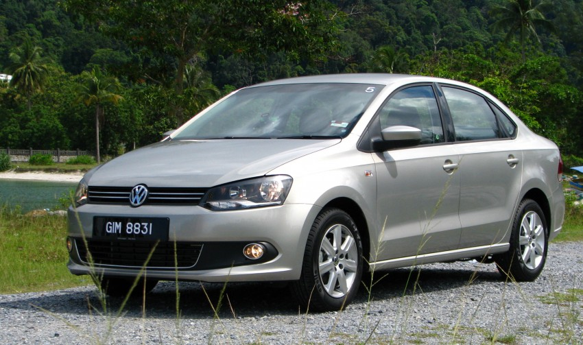 DRIVEN: Volkswagen Polo Sedan 1.6 tested! Image #103891