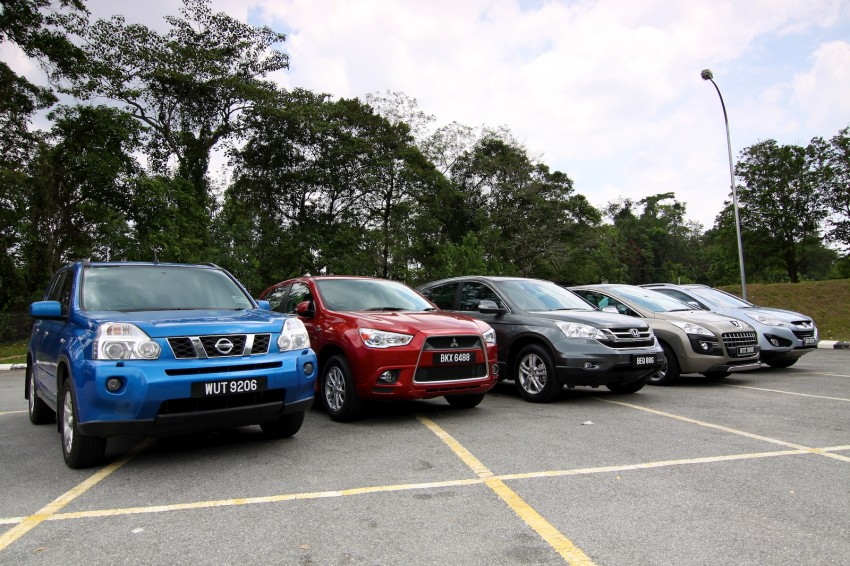 SUV shootout: Mitsubishi ASX vs Nissan X-Trail vs Honda CR-V vs Hyundai Tucson vs Peugeot 3008! Image #80467