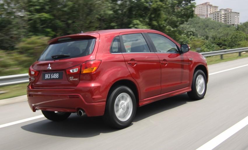SUV shootout: Mitsubishi ASX vs Nissan X-Trail vs Honda CR-V vs Hyundai Tucson vs Peugeot 3008! Image #154119