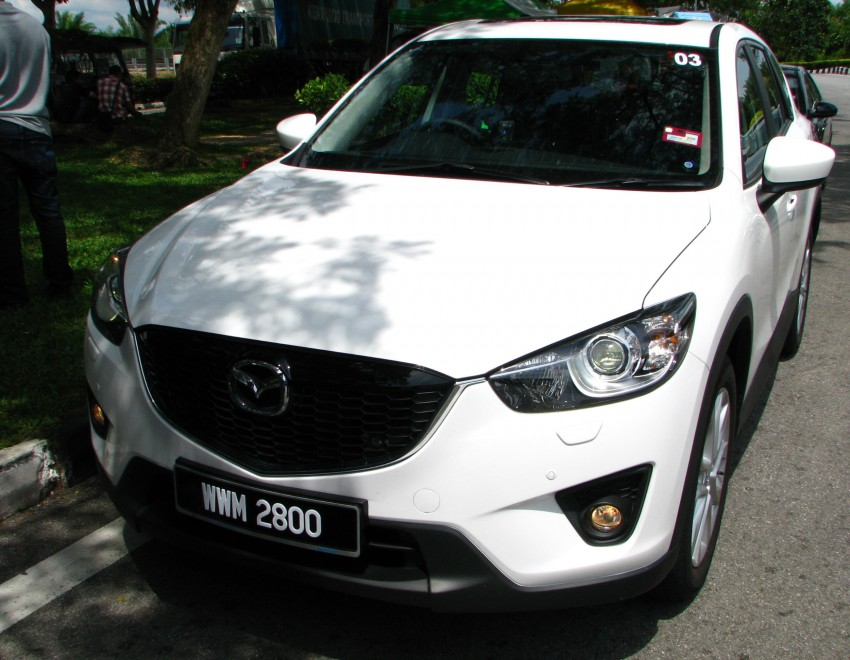 Mazda CX-5 test drive review: driven to the beach! Image #108271