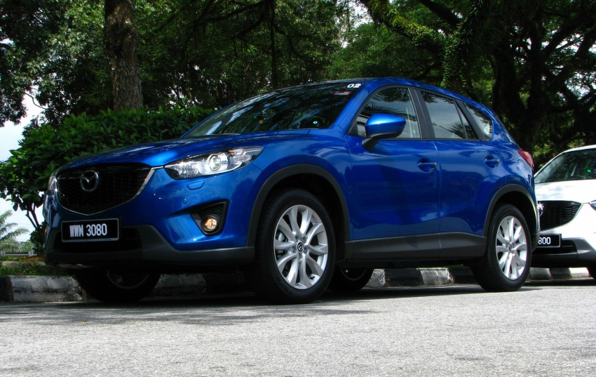 Mazda CX-5 test drive review: driven to the beach! Image #108272