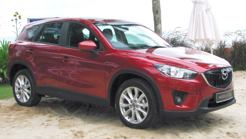 Mazda CX-5 launched – 2.0 SkyActiv-G, RM155k to RM165k Image #106716