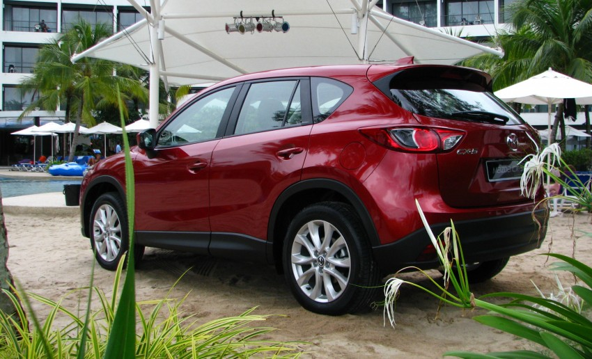 Mazda CX-5 test drive review: driven to the beach! Image #108288