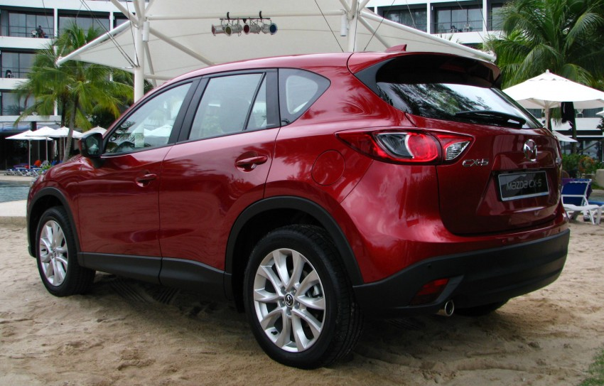 Mazda CX-5 launched – 2.0 SkyActiv-G, RM155k to RM165k Image #106680