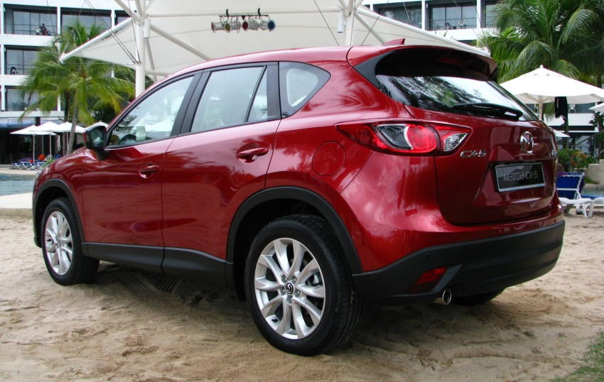 Mazda CX-5 test drive review: driven to the beach! Image #108289
