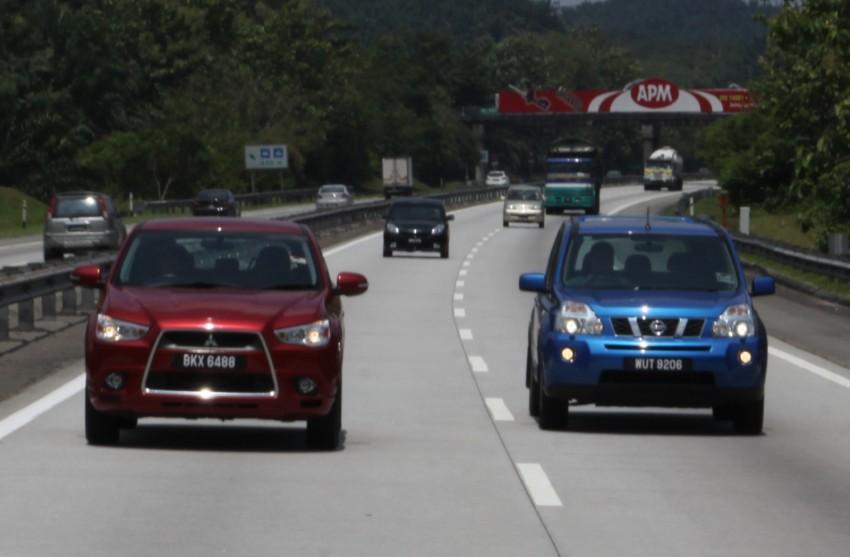 SUV shootout: Mitsubishi ASX vs Nissan X-Trail vs Honda CR-V vs Hyundai Tucson vs Peugeot 3008! Image #80470