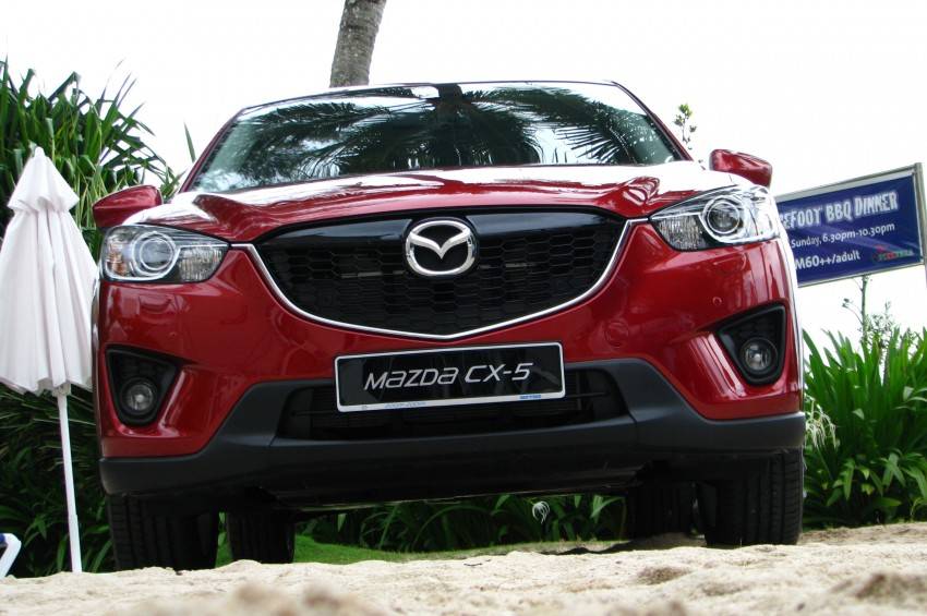 Mazda CX-5 test drive review: driven to the beach! Image #108295