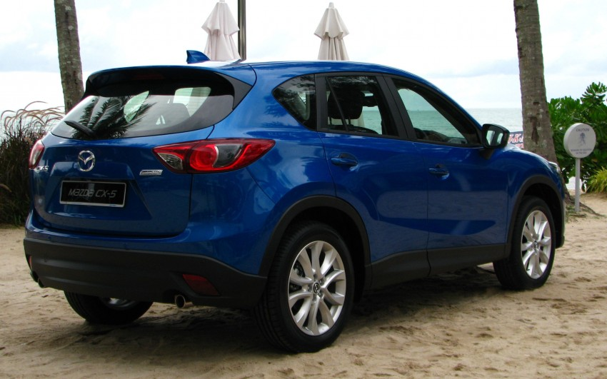 Mazda CX-5 test drive review: driven to the beach! Image #108297