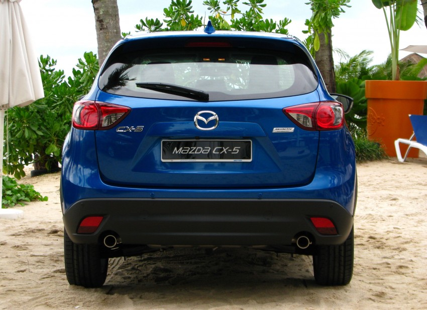 Mazda CX-5 test drive review: driven to the beach! Image #108300