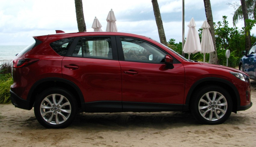 Mazda CX-5 test drive review: driven to the beach! Image #108301