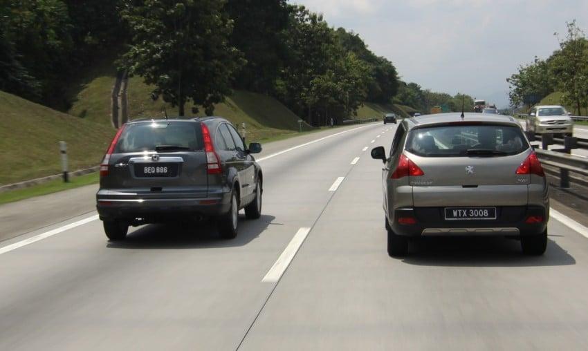 SUV shootout: Mitsubishi ASX vs Nissan X-Trail vs Honda CR-V vs Hyundai Tucson vs Peugeot 3008! Image #80471