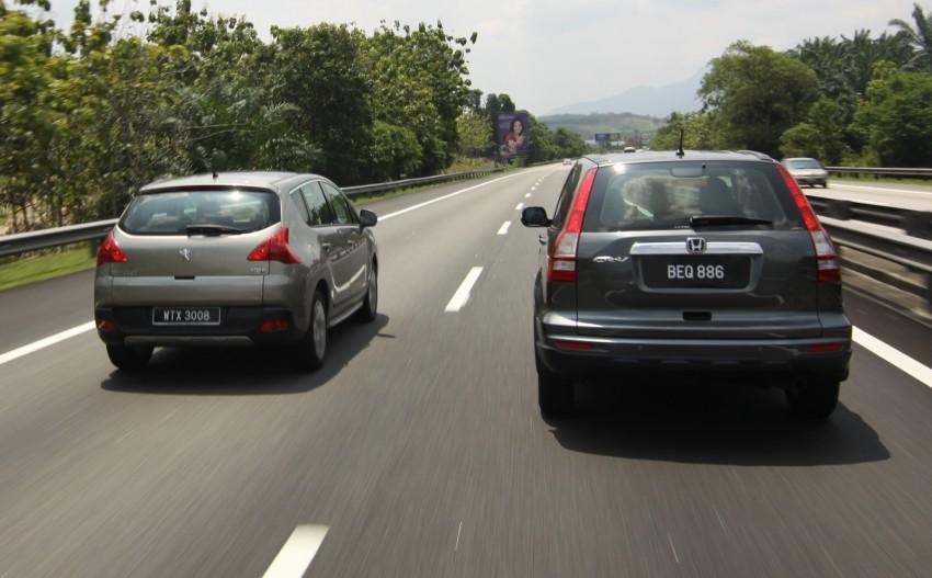 SUV shootout: Mitsubishi ASX vs Nissan X-Trail vs Honda CR-V vs Hyundai Tucson vs Peugeot 3008! Image #154061