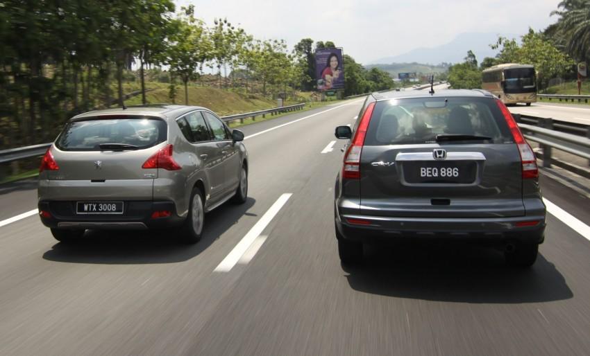 SUV shootout: Mitsubishi ASX vs Nissan X-Trail vs Honda CR-V vs Hyundai Tucson vs Peugeot 3008! Image #154062