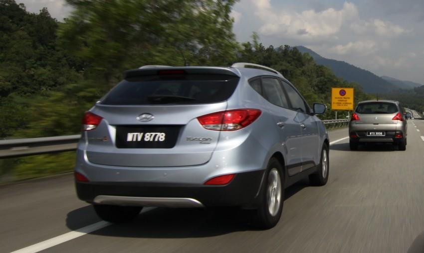 SUV shootout: Mitsubishi ASX vs Nissan X-Trail vs Honda CR-V vs Hyundai Tucson vs Peugeot 3008! Image #80474