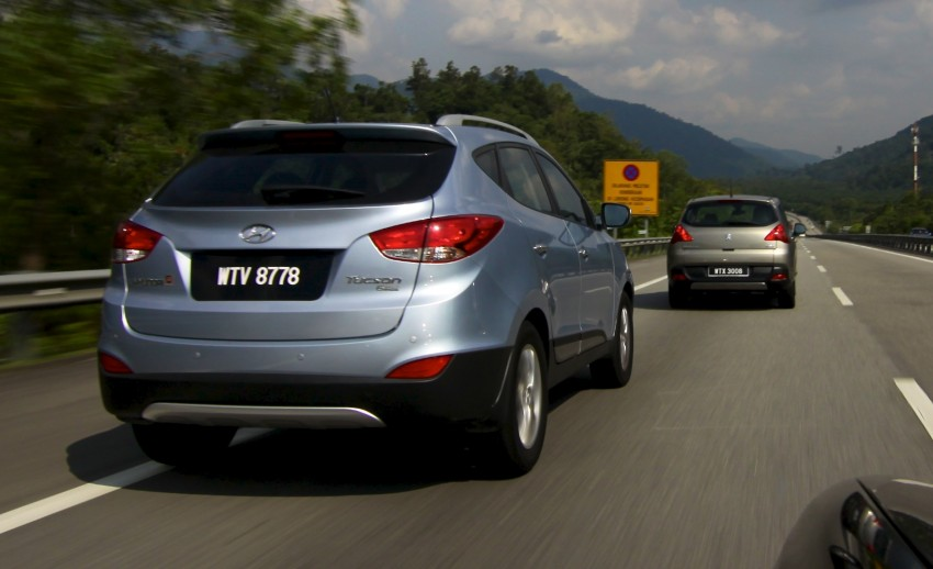SUV shootout: Mitsubishi ASX vs Nissan X-Trail vs Honda CR-V vs Hyundai Tucson vs Peugeot 3008! Image #80713