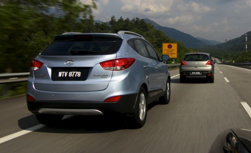 SUV shootout: Mitsubishi ASX vs Nissan X-Trail vs Honda CR-V vs Hyundai Tucson vs Peugeot 3008! Image #154350