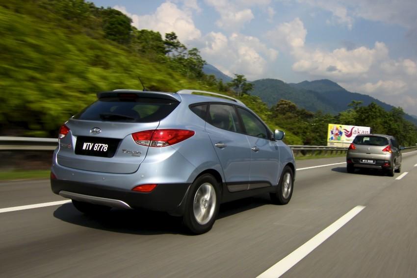 SUV shootout: Mitsubishi ASX vs Nissan X-Trail vs Honda CR-V vs Hyundai Tucson vs Peugeot 3008! Image #80402