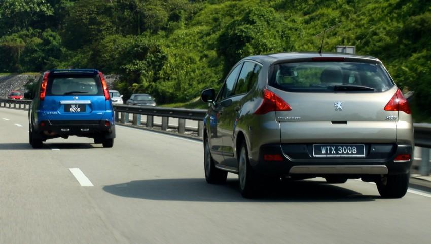 SUV shootout: Mitsubishi ASX vs Nissan X-Trail vs Honda CR-V vs Hyundai Tucson vs Peugeot 3008! Image #80476