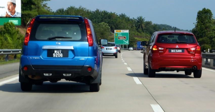 SUV shootout: Mitsubishi ASX vs Nissan X-Trail vs Honda CR-V vs Hyundai Tucson vs Peugeot 3008! Image #154058