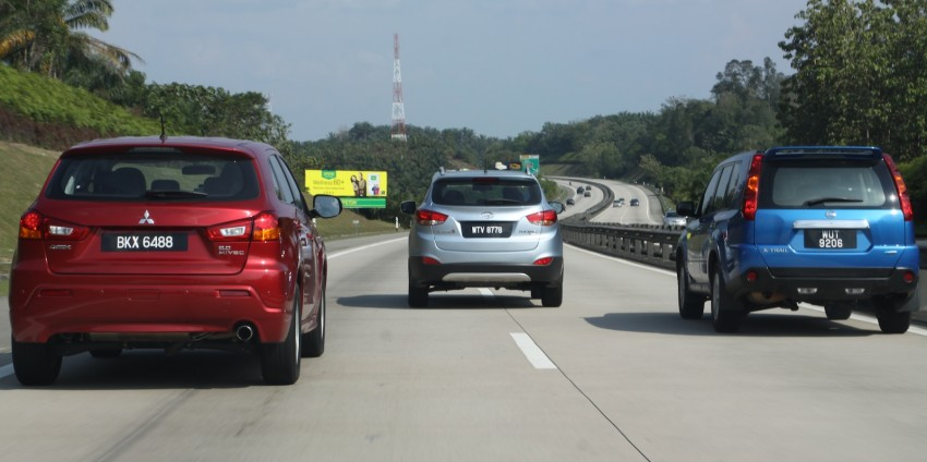 SUV shootout: Mitsubishi ASX vs Nissan X-Trail vs Honda CR-V vs Hyundai Tucson vs Peugeot 3008! Image #80478