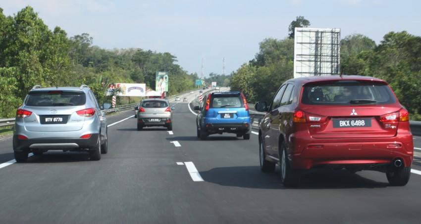SUV shootout: Mitsubishi ASX vs Nissan X-Trail vs Honda CR-V vs Hyundai Tucson vs Peugeot 3008! Image #154055