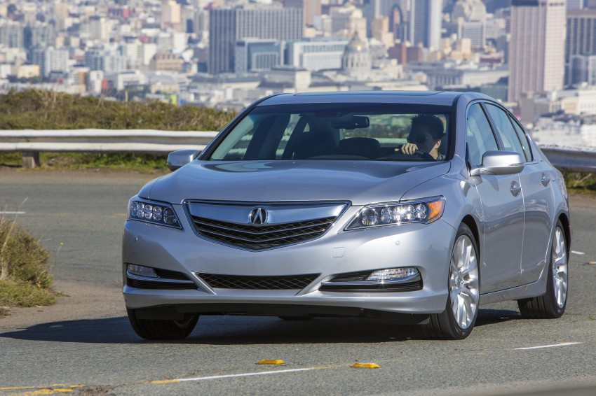 GALLERY: All-new 2014 Acura RLX – Honda's 5-Series Image #155214