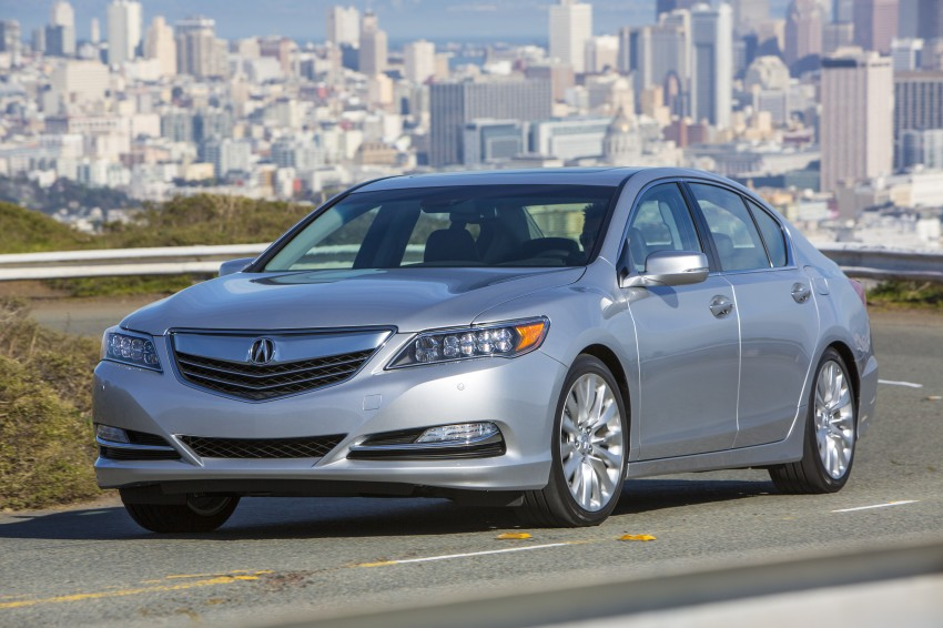 GALLERY: All-new 2014 Acura RLX – Honda's 5-Series Image #155236