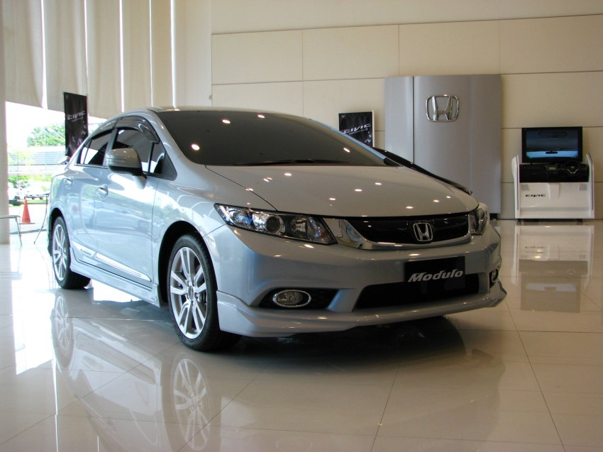 DRIVEN: 2012 Honda Civic FB (9th Gen) previewed in Thailand – not pretty, but handles brilliantly! Image #114601