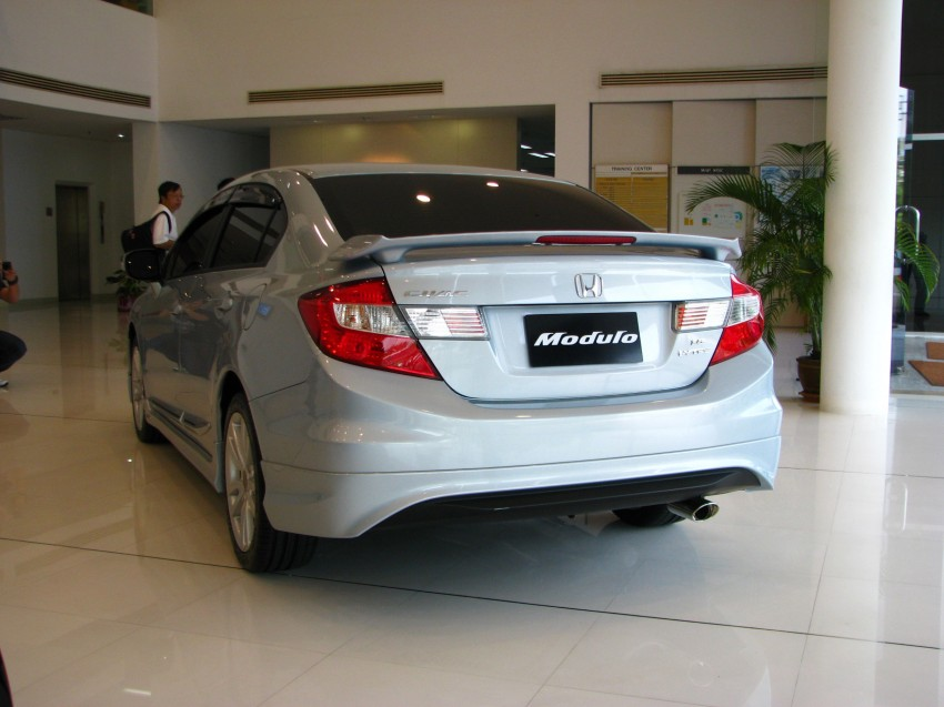 DRIVEN: 2012 Honda Civic FB (9th Gen) previewed in Thailand – not pretty, but handles brilliantly! Image #114602