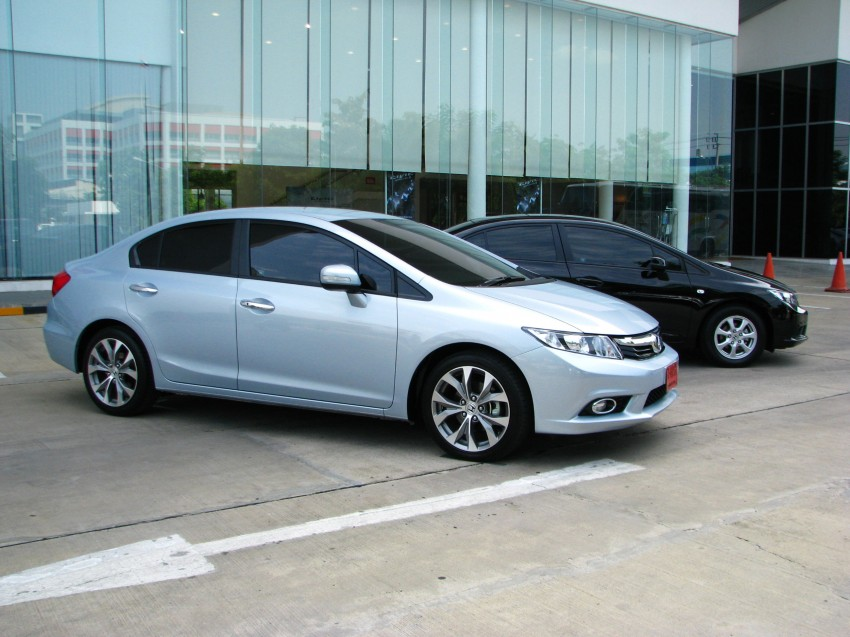 DRIVEN: 2012 Honda Civic FB (9th Gen) previewed in Thailand – not pretty, but handles brilliantly! Image #114543
