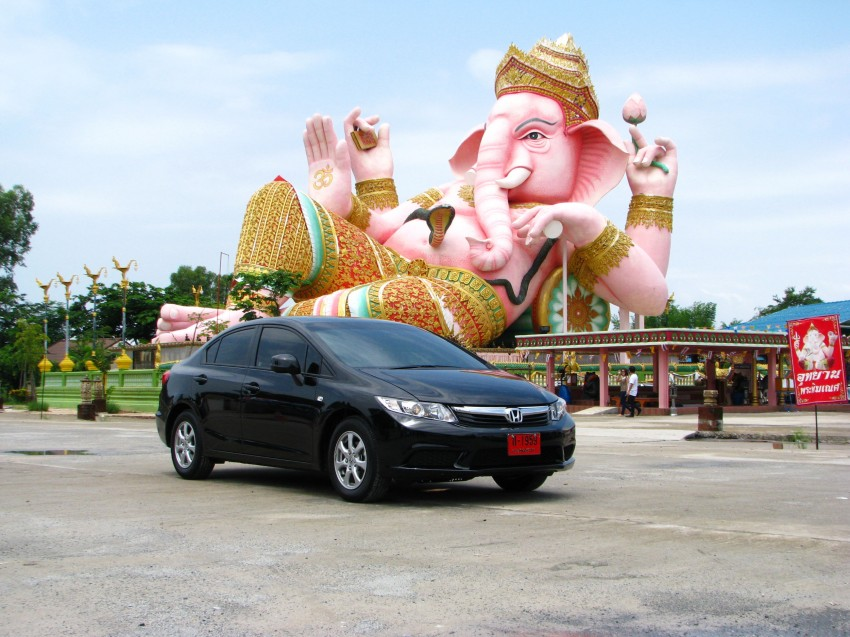 DRIVEN: 2012 Honda Civic FB (9th Gen) previewed in Thailand – not pretty, but handles brilliantly! Image #114544