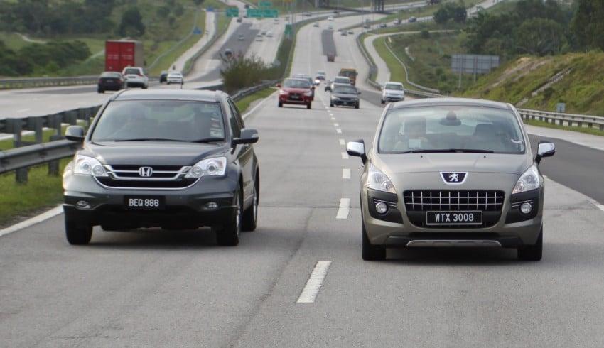 SUV shootout: Mitsubishi ASX vs Nissan X-Trail vs Honda CR-V vs Hyundai Tucson vs Peugeot 3008! Image #154050