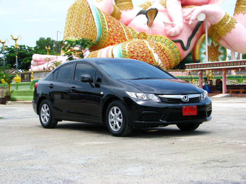 DRIVEN: 2012 Honda Civic FB (9th Gen) previewed in Thailand – not pretty, but handles brilliantly! Image #114545