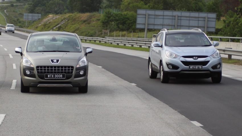 SUV shootout: Mitsubishi ASX vs Nissan X-Trail vs Honda CR-V vs Hyundai Tucson vs Peugeot 3008! Image #154048