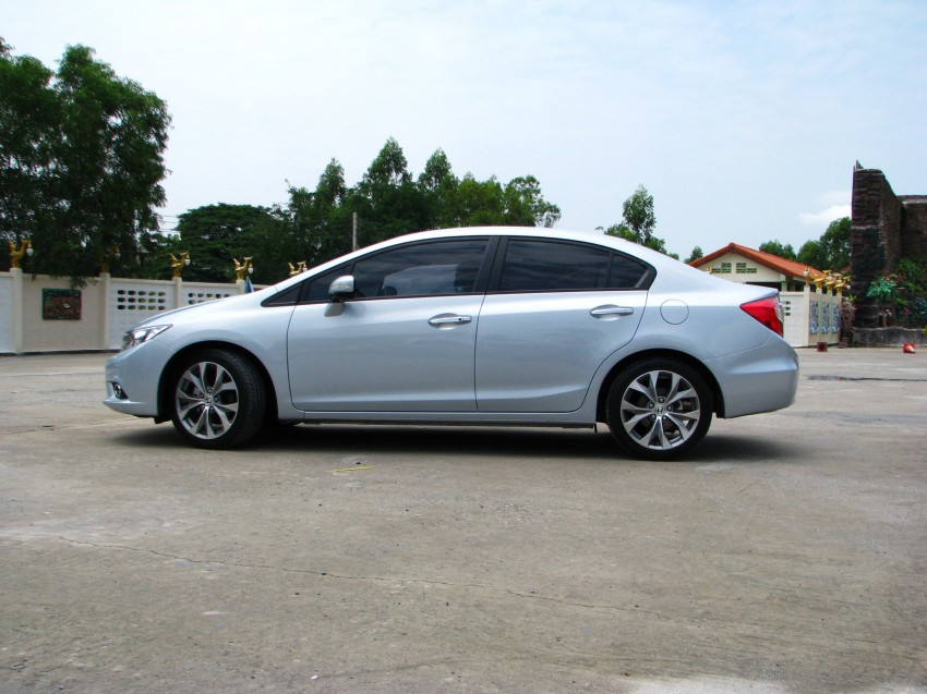 DRIVEN: 2012 Honda Civic FB (9th Gen) previewed in Thailand – not pretty, but handles brilliantly! Image #114546