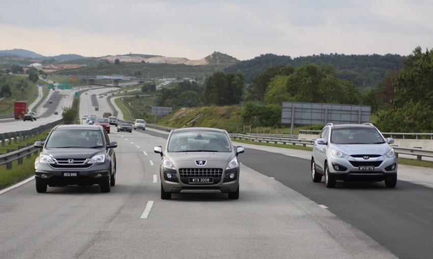 SUV shootout: Mitsubishi ASX vs Nissan X-Trail vs Honda CR-V vs Hyundai Tucson vs Peugeot 3008! Image #154049