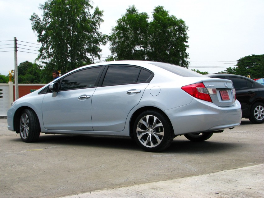 DRIVEN: 2012 Honda Civic FB (9th Gen) previewed in Thailand – not pretty, but handles brilliantly! Image #114547