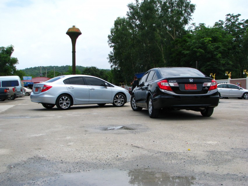 DRIVEN: 2012 Honda Civic FB (9th Gen) previewed in Thailand – not pretty, but handles brilliantly! Image #114548