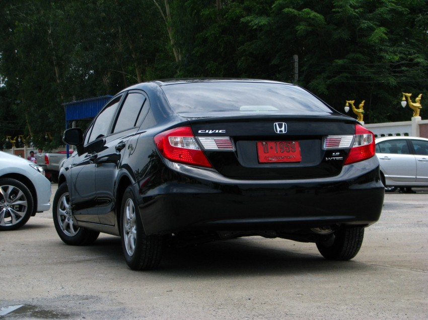DRIVEN: 2012 Honda Civic FB (9th Gen) previewed in Thailand – not pretty, but handles brilliantly! Image #114549