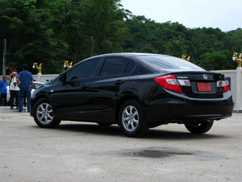 DRIVEN: 2012 Honda Civic FB (9th Gen) previewed in Thailand – not pretty, but handles brilliantly! Image #114551