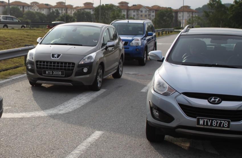 SUV shootout: Mitsubishi ASX vs Nissan X-Trail vs Honda CR-V vs Hyundai Tucson vs Peugeot 3008! Image #80487