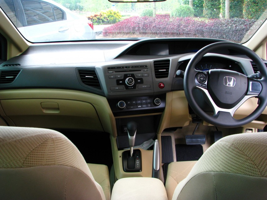 DRIVEN: 2012 Honda Civic FB (9th Gen) previewed in Thailand – not pretty, but handles brilliantly! Image #114574