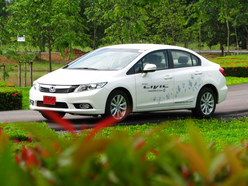 DRIVEN: 2012 Honda Civic FB (9th Gen) previewed in Thailand – not pretty, but handles brilliantly! Image #114552