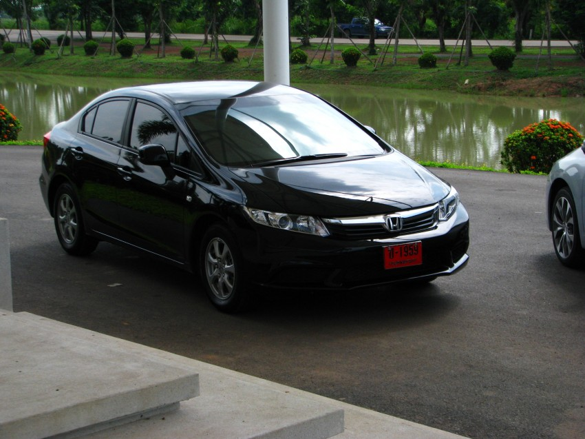 DRIVEN: 2012 Honda Civic FB (9th Gen) previewed in Thailand – not pretty, but handles brilliantly! Image #114553