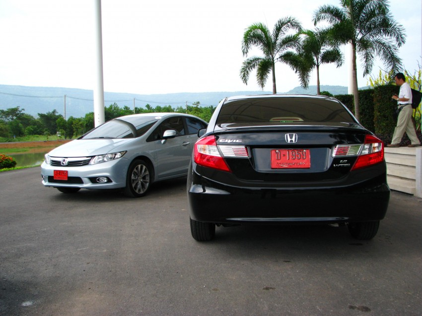 DRIVEN: 2012 Honda Civic FB (9th Gen) previewed in Thailand – not pretty, but handles brilliantly! Image #114555