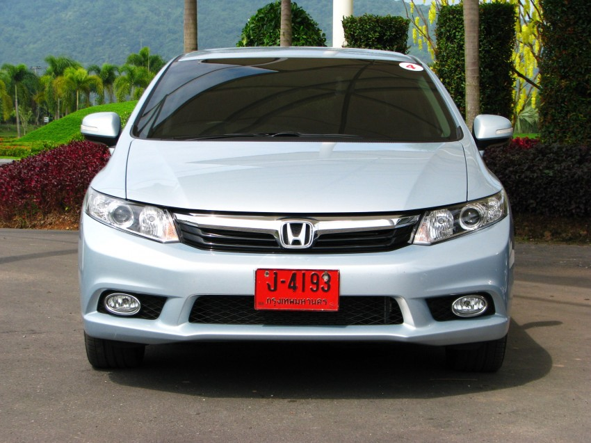 DRIVEN: 2012 Honda Civic FB (9th Gen) previewed in Thailand – not pretty, but handles brilliantly! Image #114557