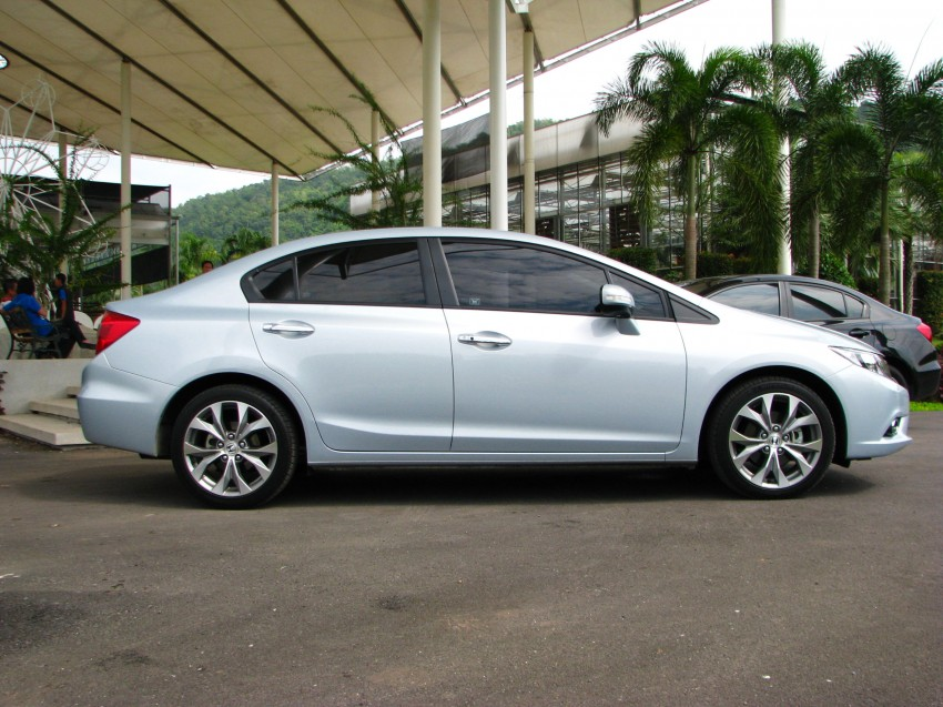 DRIVEN: 2012 Honda Civic FB (9th Gen) previewed in Thailand – not pretty, but handles brilliantly! Image #114558